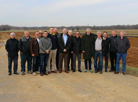 Das Team von Nucor und SMS group am Standort Brandenburg, Kentucky in den USA